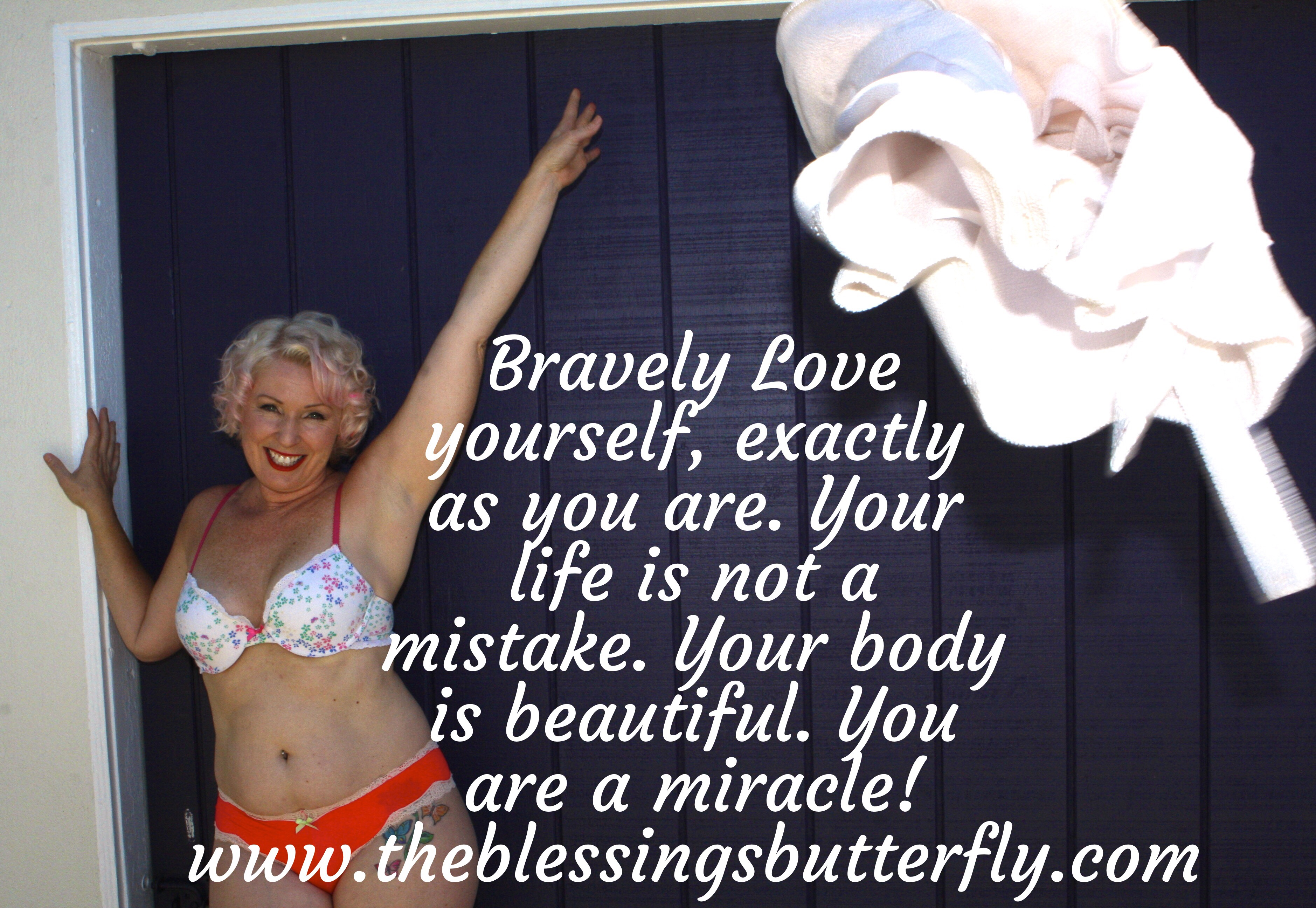 the blessings butterfly - brave